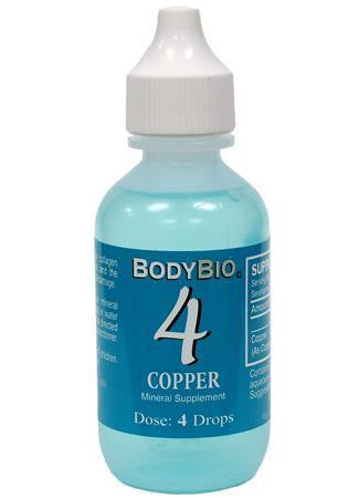 Copper #4 Liquid Mineral  4oz