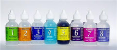 Liquid Mineral Set #1-8 (4oz. bottles)