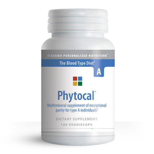 Phytocal Mineral Formula (Type A) 120c