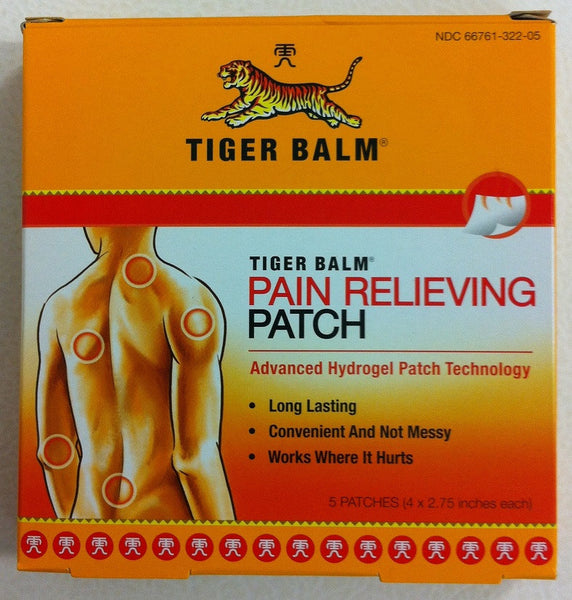 Tiger Balm Patch (5 patches)