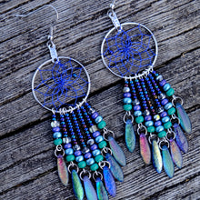 Load image into Gallery viewer, Dream Catcher Jewellery with Glass and Dagger Beads