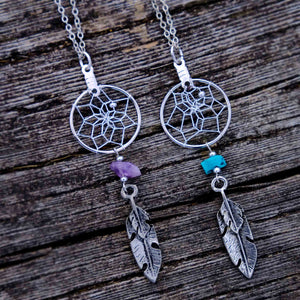 Dream Catcher Jewellery with Semi-precious Stones
