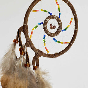"3"" Double-web Dream Catchers with Semi-precious Stone"