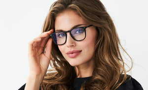 Prego - Palau - Rectangular Bluelight Glasses