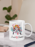 Personalised love birds design Mug|Valentines gift|Valentines Mug|Couple gifts