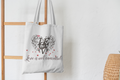 Valentine's Day Gift! Love is not cancelled - Love tote bag| Gift|Anniversary gift
