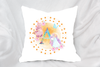 Personalised unicorn princess| Princess Cushion| Unicorn princess, Personalised cushion, Novelty cushion,Birthday Gift | gift