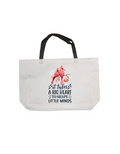 Teacher's tote bag | Teacher's bag |Gift | It takes a big heart