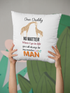 Father's day cushion| Dad cushion| Birthday cushion |Novelty cushion