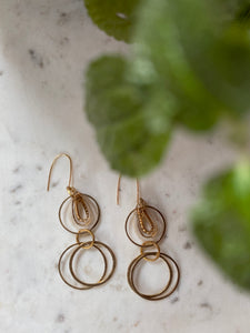 Mod Circles Earrings #3