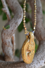 Load image into Gallery viewer, Sacred Heart Milagro Necklace