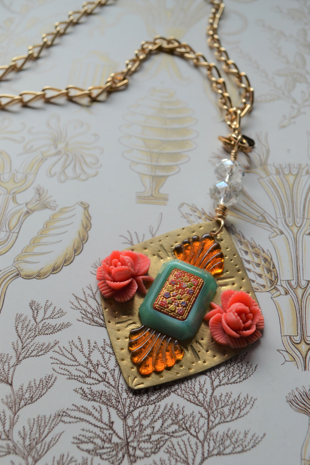 Sacred Roses Necklace
