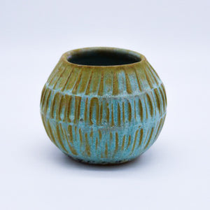 Small Carved Vessel