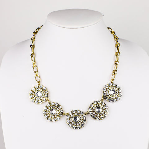 The Audrey Statement Necklace