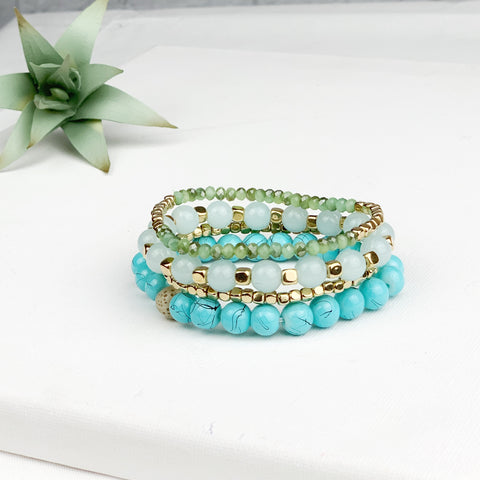 {Kiki} Stackable Boho Bracelets