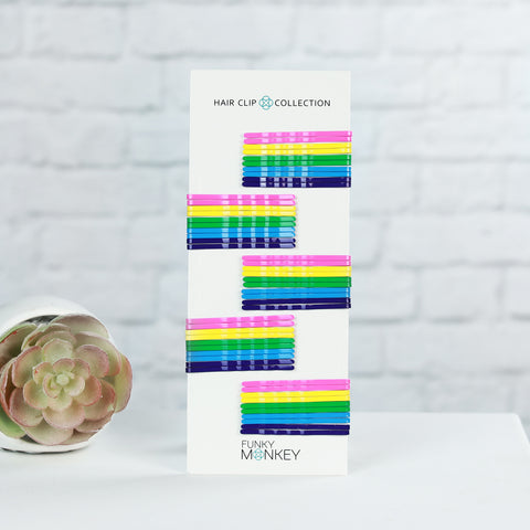 Boutique Colored Bobby Pin Pack - Laffy Taffy