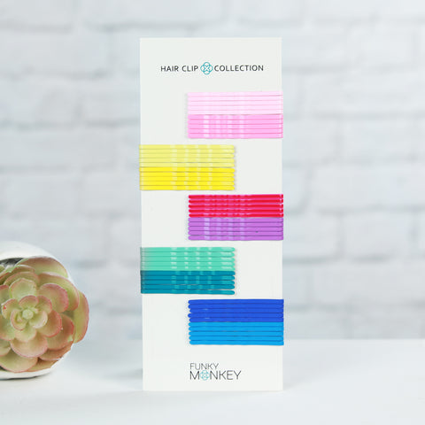 Boutique Colored Bobby Pin Pack - Sweet Tart