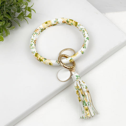 Key Ring Bracelet Collection - Daisies