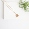 Initial Collection Necklace - Letter O