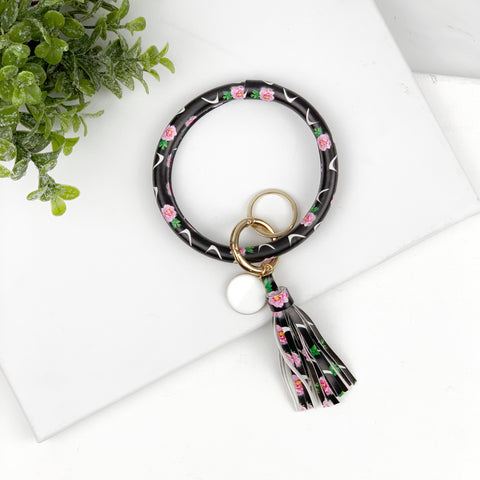 Key Ring Bracelet Collection - Roses