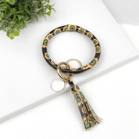 Key Ring Bracelet Collection - Sunflower
