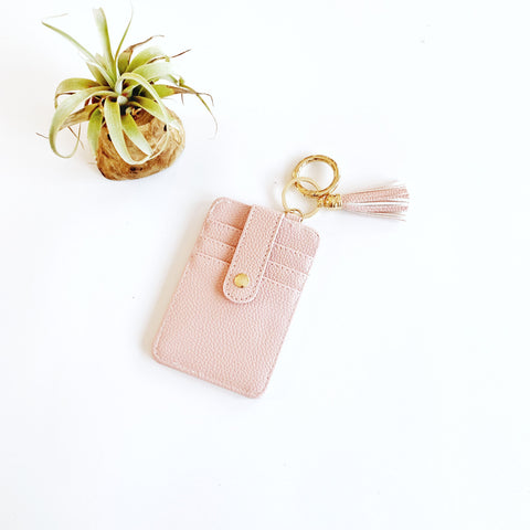 Key Ring Wallet - Pink