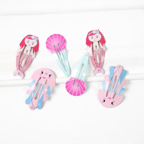 Mermaid Love Hair Clip Set
