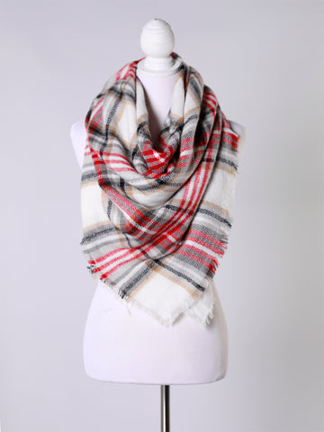 7ab5c9169 ... Tartan~ 2018 Collection Blanket Scarf. Images / 1 / 2 / 3