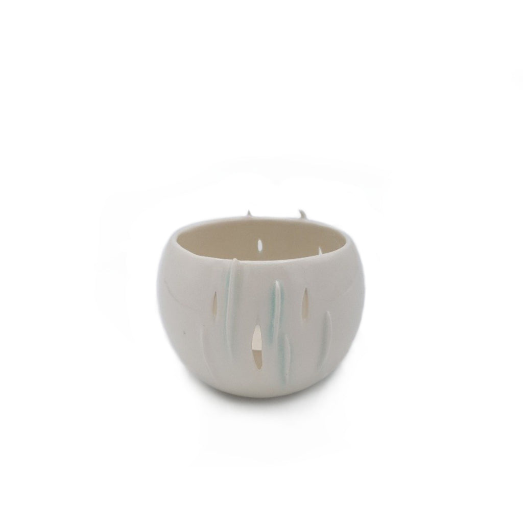 Kaolin - Iceramic. Porcelain tealight