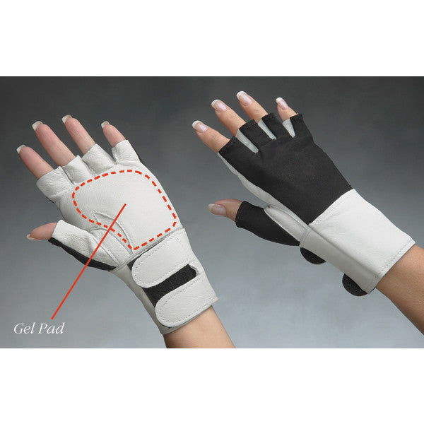 Padded Gloves with Wrist Support