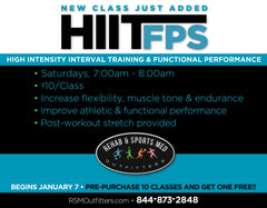 HIIT (High Intensity Interval Training) FPS CLASS