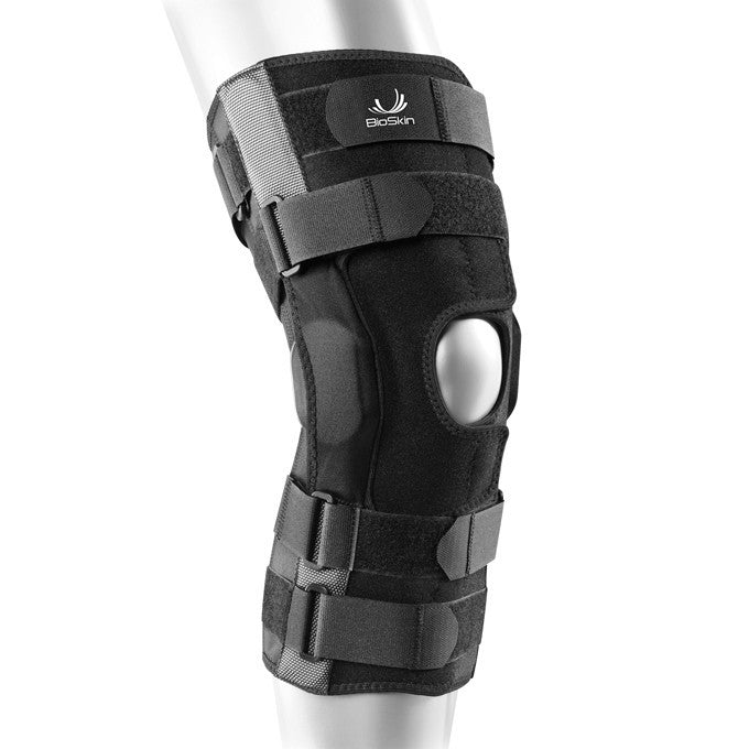 Bio Skin® Gladiator Hinged Knee Brace Front Closure