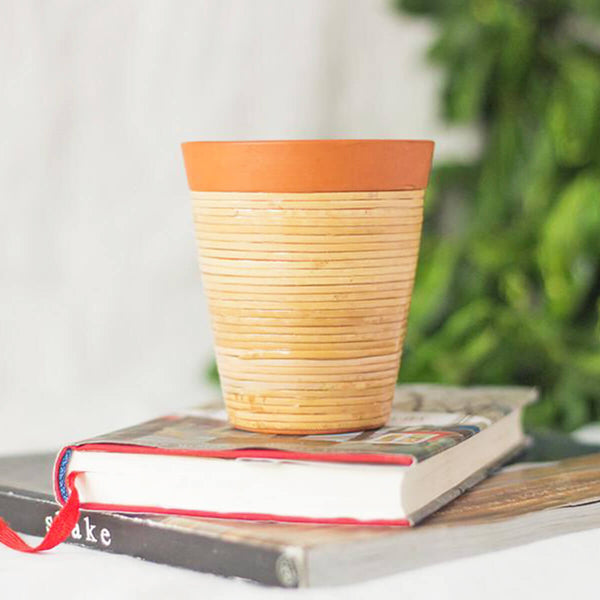 Terracotta Glasses (set of 2)
