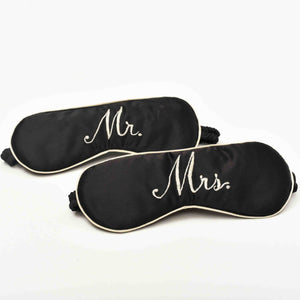 Mr & Mrs Eye Mask