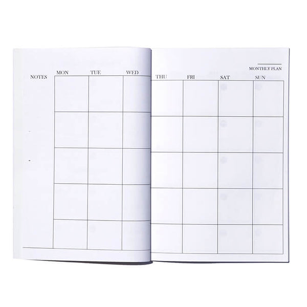 Monthly A5 Planner