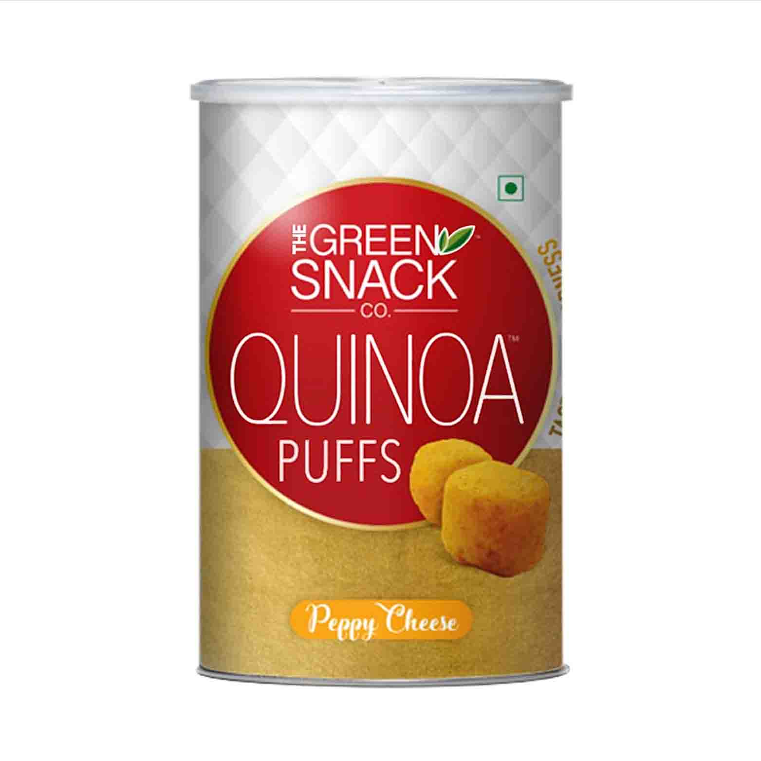 Peppy Cheese Quinoa Puff