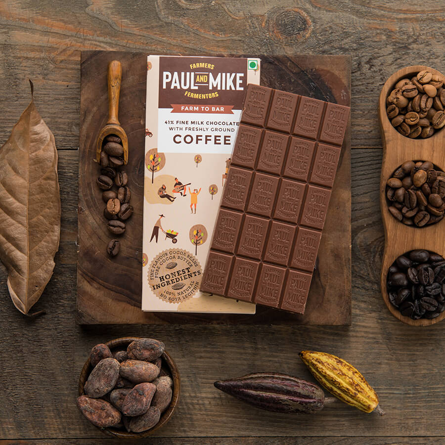 41% Fine Milk Coffee Chocolate