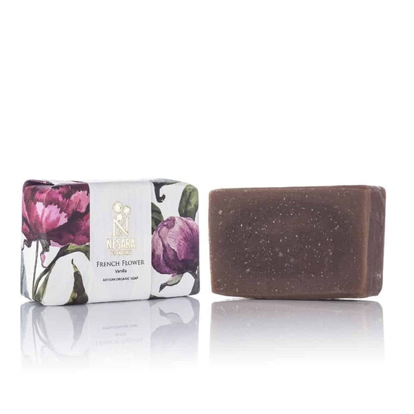 French Flower Soap