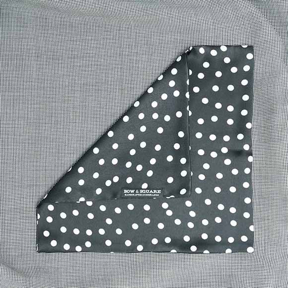 Monochrome Pocket Square