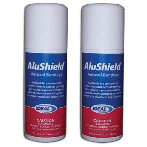 AluShield Aerosol Bandage Spray - 2.6 oz. (2-SPRAYS)