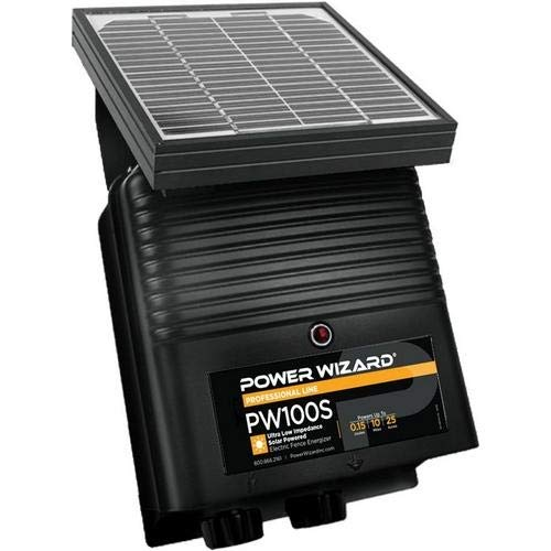 Power Wizard PW100s, 12V Solar Electric Fence Charger