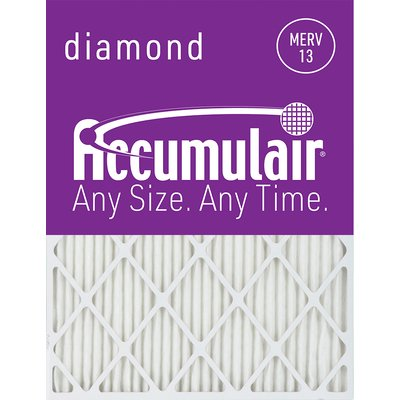 Accumulair MERV 13 Furnace Air Filter, Width 12 in, Height 26.5 in, Filters (qty.) 6, Model