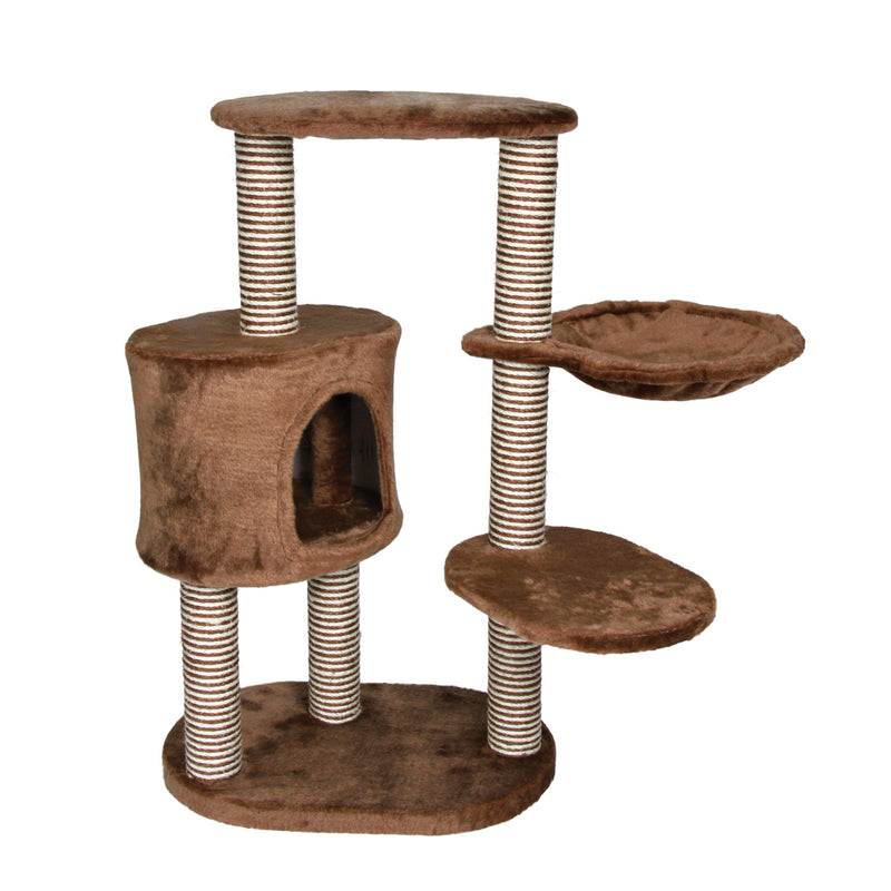 Moriles Cat Tower Brown