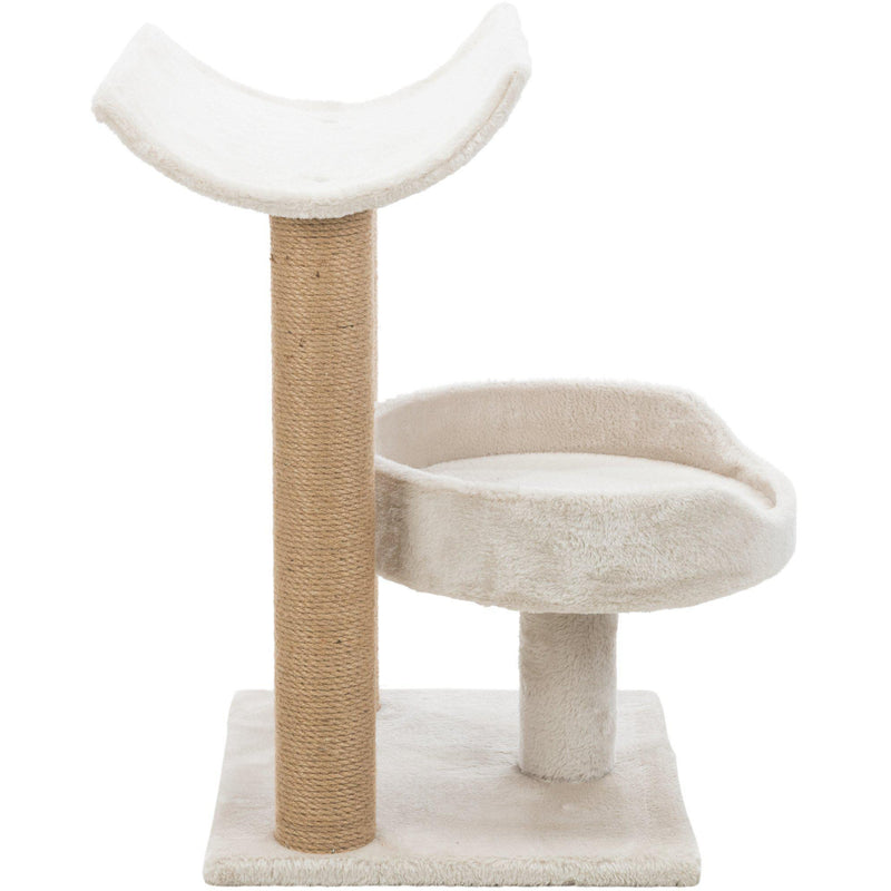 Isaba Scratching Post with Two Platforms Light Gray