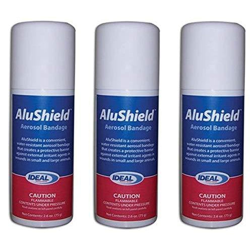 AluShield Aerosol Bandage Spray - 2.6 oz. (3-SPRAYS)