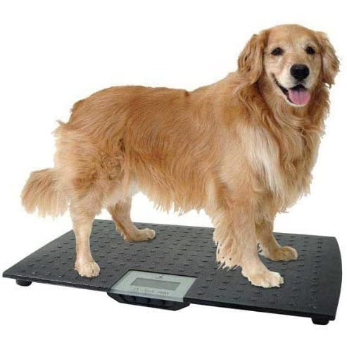 New W.C. Redmon Large Precision Digital Pet Scale Black 7475 Animal's Weight.