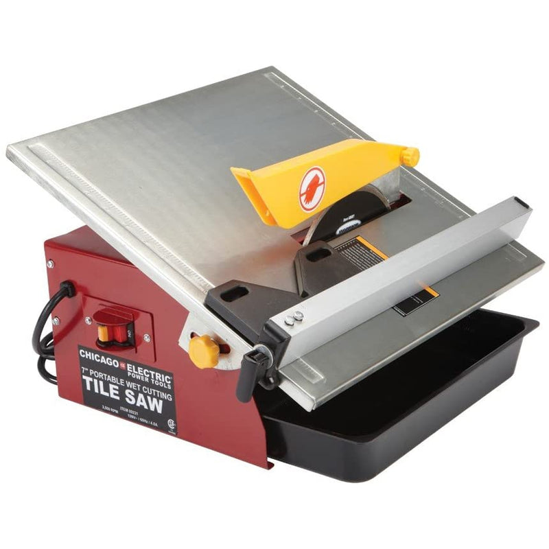 7 in. Portable Wet Cutting Tile Saw by USATNM