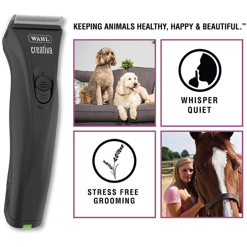 Wahl Professional Animal Creativa Cordless Dog, Cat, Pet, and Horse Clipper
