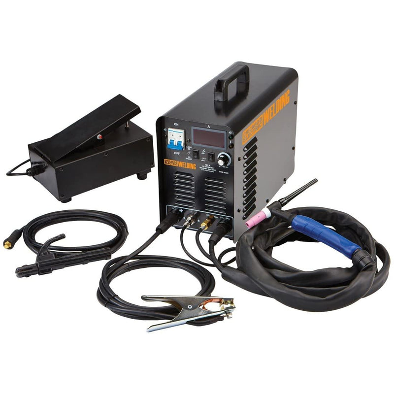 Chicago Electric 240 Volt Inverter Arc/TIG Welder with Digital Readout