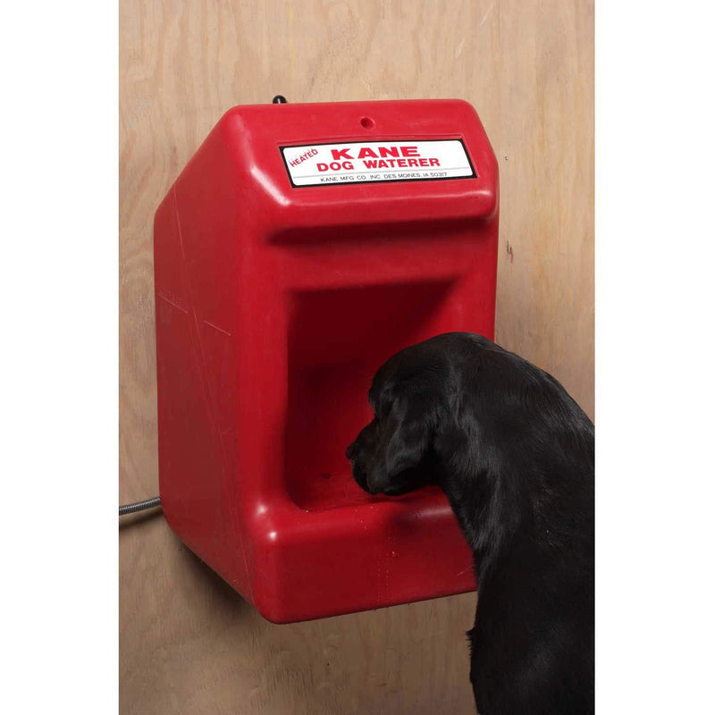 Kane Heated Dog Waterer Red, KDW-H, Lot of 1